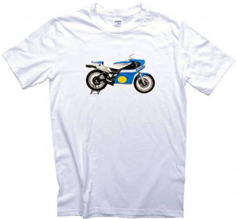Classic RG500 1975 Motorcycle T-Shirt. Barry Sheene. Gents, Ladies & Kids Sizes
